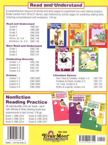 Workbook common core worksheets 4th grade math : Amazon.com: Read and Understand Science, Grades 2-3 (9781557998552 ...