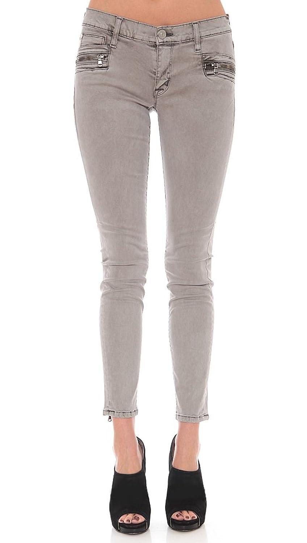 Hudson Women's Chimera Zipper Pants in Aggro Wash