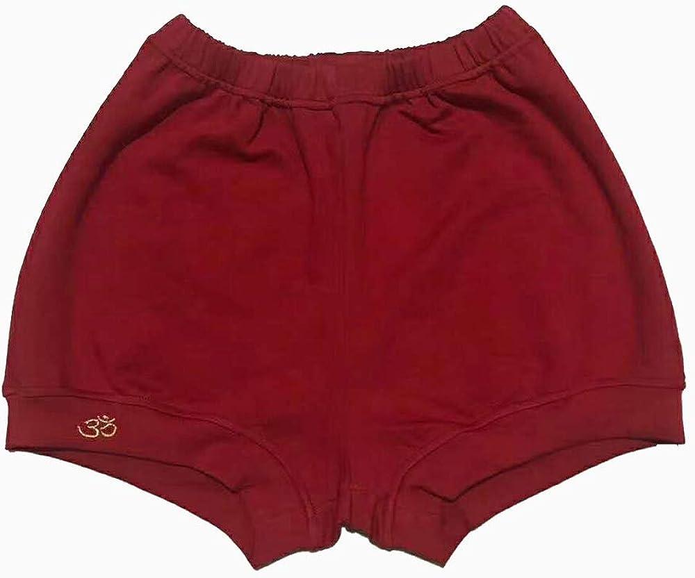Amazon.com: Samfo Calidad Algodón Iyengar Pantalones Cortos ...