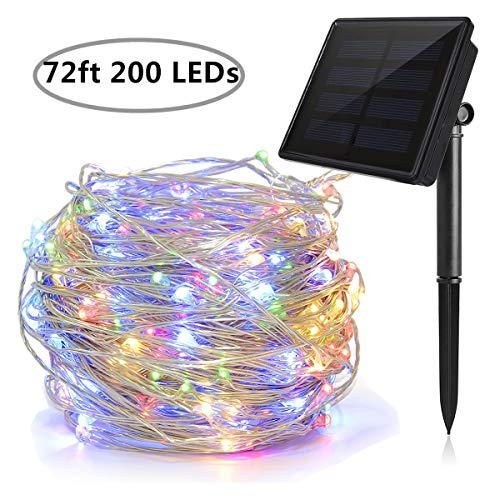 UNIAI 8 Modes Solar String Light, 200 LED