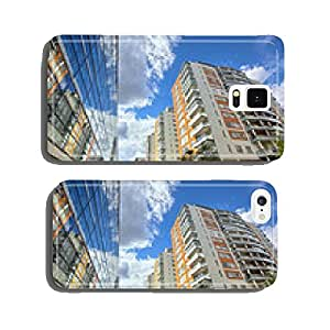 modern apartments with a blue sky cell phone cover case Samsung S5