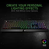 Razer Cynosa Chroma – Multi-color RGB Gaming keyboard – Individually Backlit Keys – Spill-Resistant Durable Design