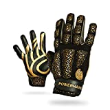 POWERHANDZ Weighted Anti-Grip Striker Gloves for Strength and Resistance Training - Boxing, Kickboxing, MMA Training Purposes - Youth