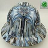 Wet Works Imaging Customized Pyramex Full Brim Phychedelic Neo Chrome Hard Hat With Ratcheting Suspension