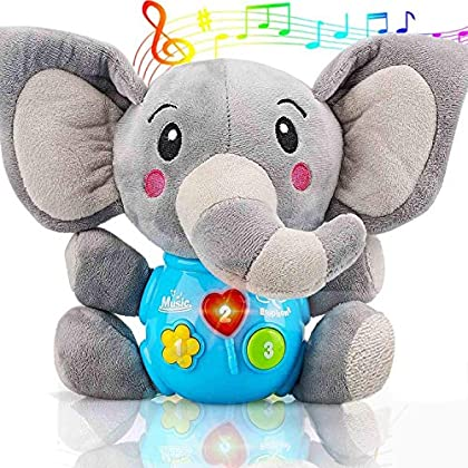 Sell pluse® Newborn Baby Musical Toys for Baby 0 to 36 Months – Stuffed Animal Light Up Baby Toys for Infants Babies…