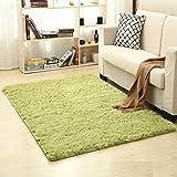 Super Soft Fluffy Anti-Skid Shaggy Area Rug Dining Room Bedroom Bathroom Carpet Floor