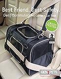 Crash Tested Gen7 Commuter Dog, Cat, Pet Carrier and Car Seat (Black)