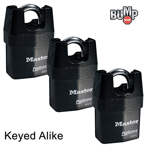 Master Lock Security Padlocks 6321NKA 3
