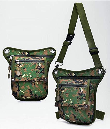 Green Sport Waist Running Shoulder Riding Outdoors Pack Multifunction Bag Bigood Nylon wxvXRPnq