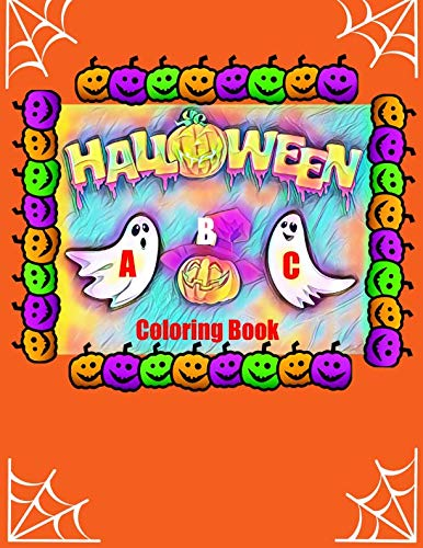 (Halloween ABC Coloring Book)