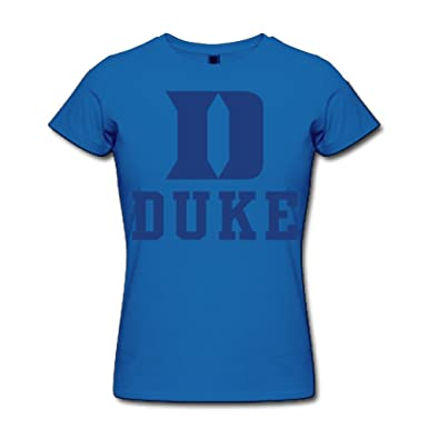 a23bcea85b32 Amazon.com  Duke Blue Devils Basketball Logo T Shirt For Women ...