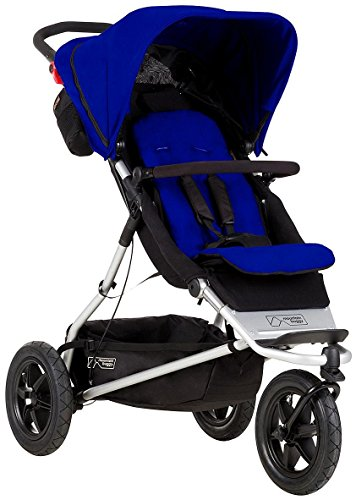 Mountain Buggy One Stroller with Second Seat & Cocoon, Ma...