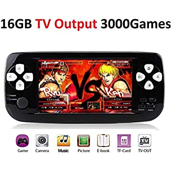 Amazoncom Retro Handheld Game Console With Built In 3000