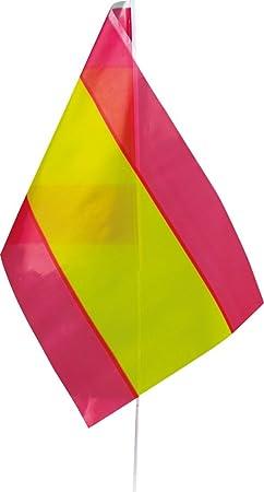 Verbetena - Bandera palo España 20x30 cm, pack 25 unidades ...