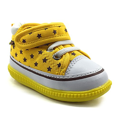 Z-T FUTURE Squeaky Shoes for Baby Boys Girls Anti-slip Soft Rubber Sole Canvas Sneakers - Baby Girl Squeaker Shoes
