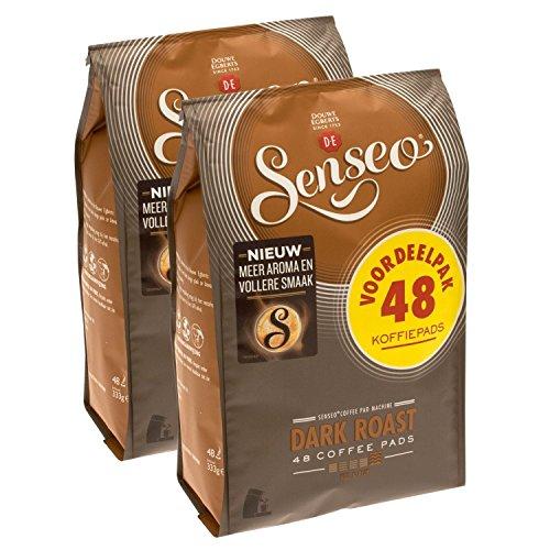 Senseo Dark Roast Coffee Pods 96-count Pods - 2 X 48 Pack (Senseo Dark Roast)