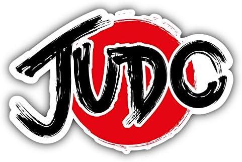 Judo-Sport-Label-Car-Bumper-Sticker-Decal 3/'/' or 5/'/'