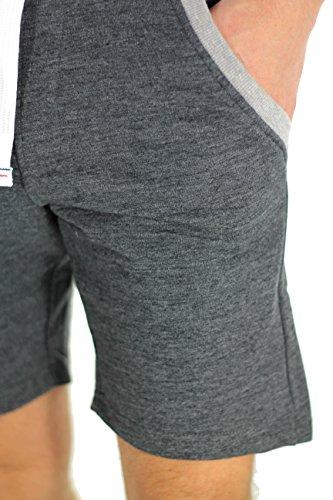 Waxx-Waxx 601101-Bermudas para hombre, color gris oscuro gris