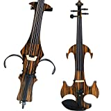 Leeche Handmade Professional Solid Wood Electric Cello 4/4 Full Size Silent Electric Cello-N1805