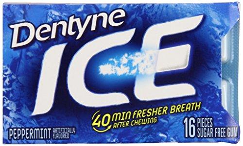 Dentyne Ice Peppermint, 7.6-Ounce (Pack of 9) -