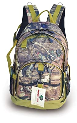 Explorer Tactical 3 Day Military Tactical Combat Assault Pack Molle Bug Out Bag 17 Inch Backpack Outdoor Hiking Camping Trekking Hunting (MossyOakB3-Mo)