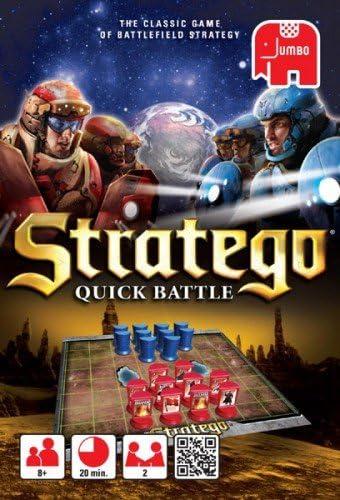 Jumbo 17851 - Stratego Quick - Juego de cartas, 2 jugadores [Importado]: Amazon.es: Juguetes y juegos