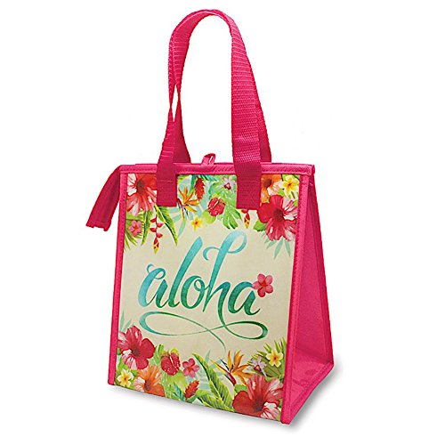 Hawaiian Insulated Lunch Bag Aloha Floral by Welcome to the Islands