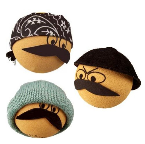 Cool Dude 3 Mexican Latino Hispanic Antenna Toppers / Antenna Balls
