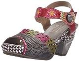 L'Artiste by Spring Step Women's Jive Sandals,  Gray Multi- 41 M EU / 9.5-10 B(M) US