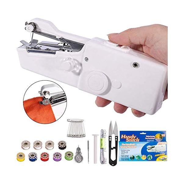 DUTISON Handheld Sewing Machine – Mini Cordless Portable Electric Sewing Machine...
