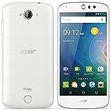 Acer Liquid Z530 (Android5.1 Lollipop/MT6735 Quad-core 1.3GHz/2GBメモリ/16GB/5インチ/SIMフリーLTE/ホワイト) Z530W-F01