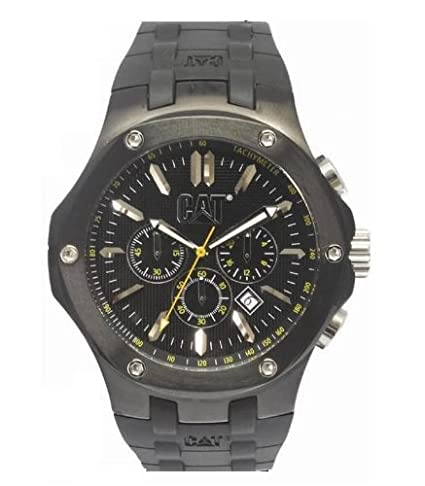 Amazon.com: Caterpillar Mens A1-163-21-121 Navigo Analog Chronograph Watch: Caterpillar CAT: Watches