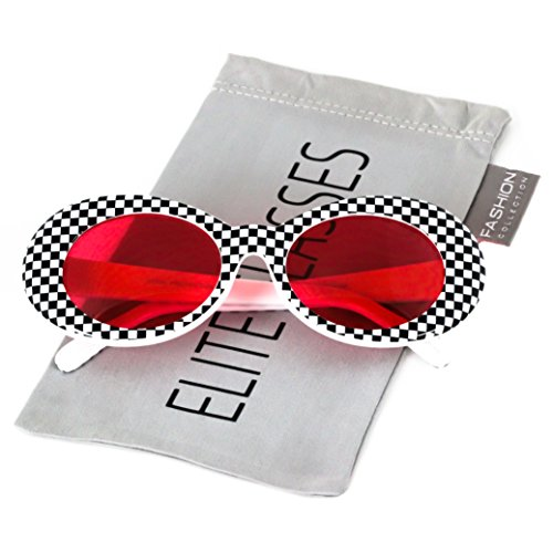 effba0faaad Clout Goggles Oval Mod Retro Thick Frame Rapper Hypebeast Eyewear Supreme  Glasses Cool Sunglasses