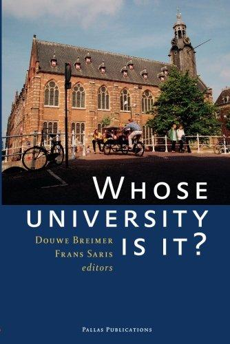 Download Whose University Is It? pdf