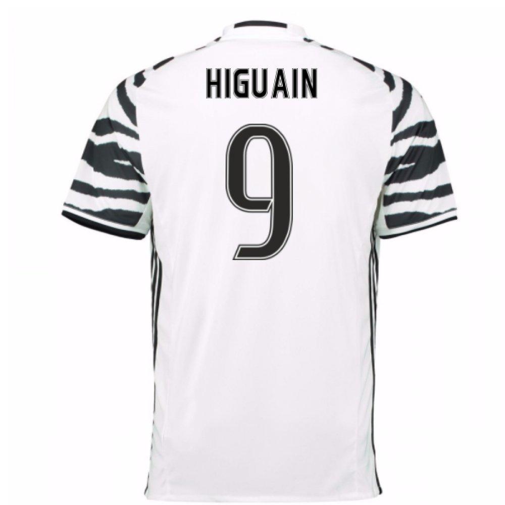 2016-17 Juventus 3rd Football Soccer T-Shirt Trikot (Gonzalo Higuain 9)