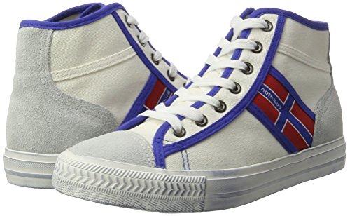 Sneakers Nebulus Donna Bianco York Stringate 7rT7SEq