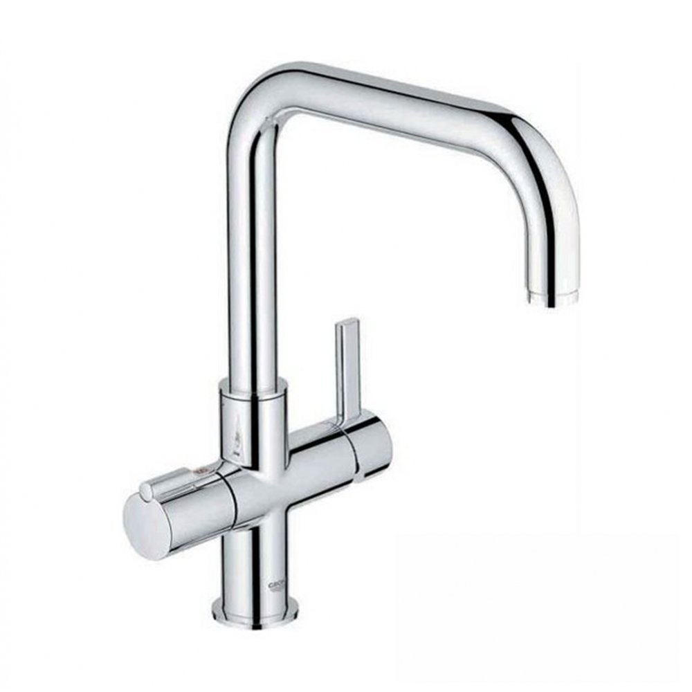 GROHE 30153000 | Red Duo Tap | 3L Boiler: Amazon.co.uk: DIY & Tools