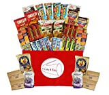 Healthy Snacks Gift Box, College Dorm, Military,Breakroom Bundle Gift (45 Count)NC