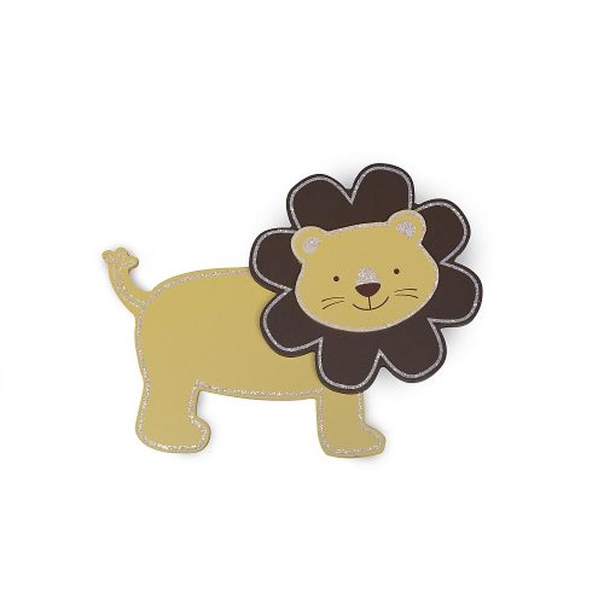 Amazon.com : Koala Baby Wooden Nursery Lion Wall Decor Yellow ...
