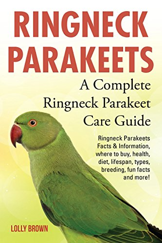 - Ringneck Parakeets: Ringneck Parakeets Facts & Information, where to buy, health, diet, lifespan, types, breeding, fun facts and more! A Complete Ringneck Parakeet Care Guide