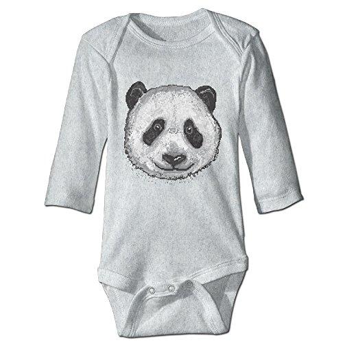 Johnny Depp Into The Woods Costume (Alexx Pixel Panda Kid Jumpsuit Bodysuit Long-sleeve Playsuit Ash 6 M)
