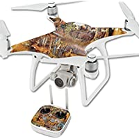 Skin For DJI Phantom 4 Quadcopter Drone – Deer Pattern | MightySkins Protective, Durable, and Unique Vinyl Decal wrap cover | Easy To Apply, Remove, and Change Styles | Made in the USA