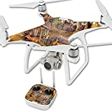 MightySkins Skin for DJI Phantom 4 Quadcopter Drone – Deer Pattern | Protective, Durable, and Unique Vinyl Decal wrap Cover | Easy to Apply, Remove, and Change Styles | Made in The USA