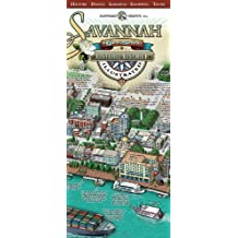 Amazoncom Savannah Georgia Books - Us map savannah georgia