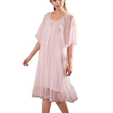 Womens  Princess Nightgown Vintage Nighties Chemises Victorian Nightdress  Sleepwear Pajamas Housedress at Amazon Women s Clothing store  3d740a335