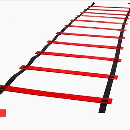 ABCCS Escalera Deportiva de la escalerade Entrenamiento Escalera de Entrenamiento de fútbol Escalera ágil de Salto Agilidad Escala de energía Escalera de Entrenamiento múltiples Colores Pueden Elegir: Amazon.es: Hogar