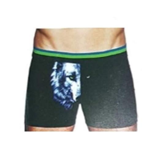 Top Drawer Wolf Light   Dark Portrait Boxer Briefs at Amazon Men s ... bf1ba24bf