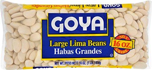 Goya Large Lima Beans, 1 Pound (Beans Large Lima)