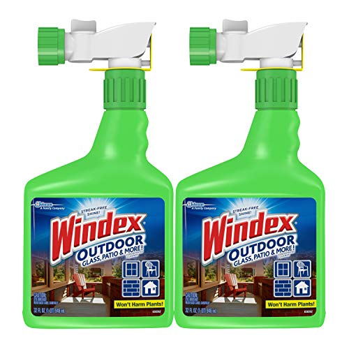 Windex Outdoor Glass & Patio Concentrated Cleaner, 2 ct, 32 fl -