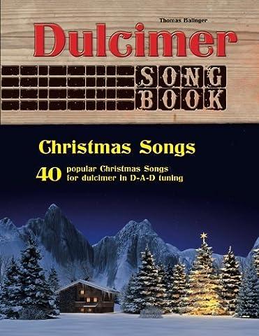 Dulcimer Songbook: Christmas Songs - Dulcimer Book